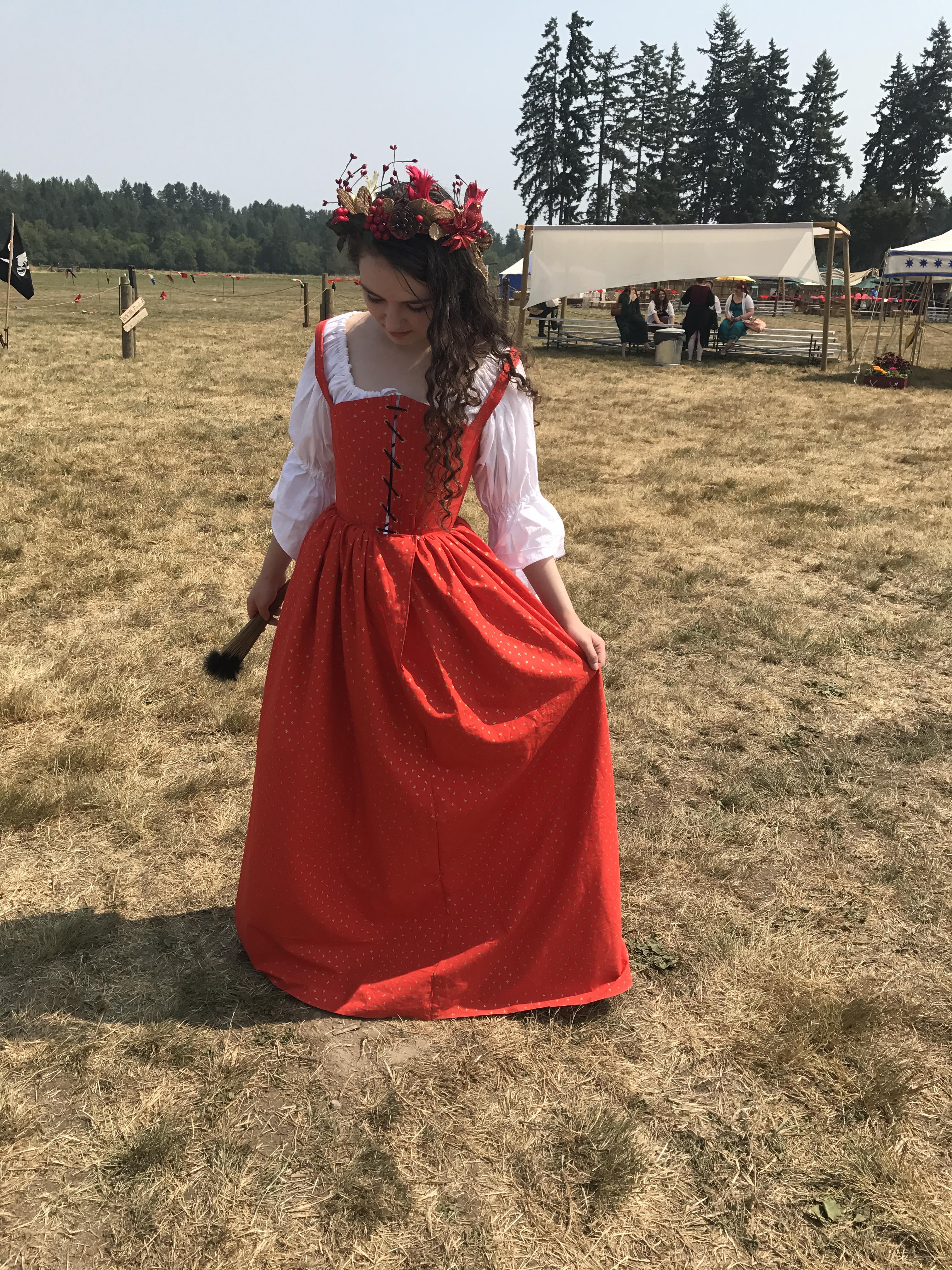 Renaissance Faire 2017 Kirtle