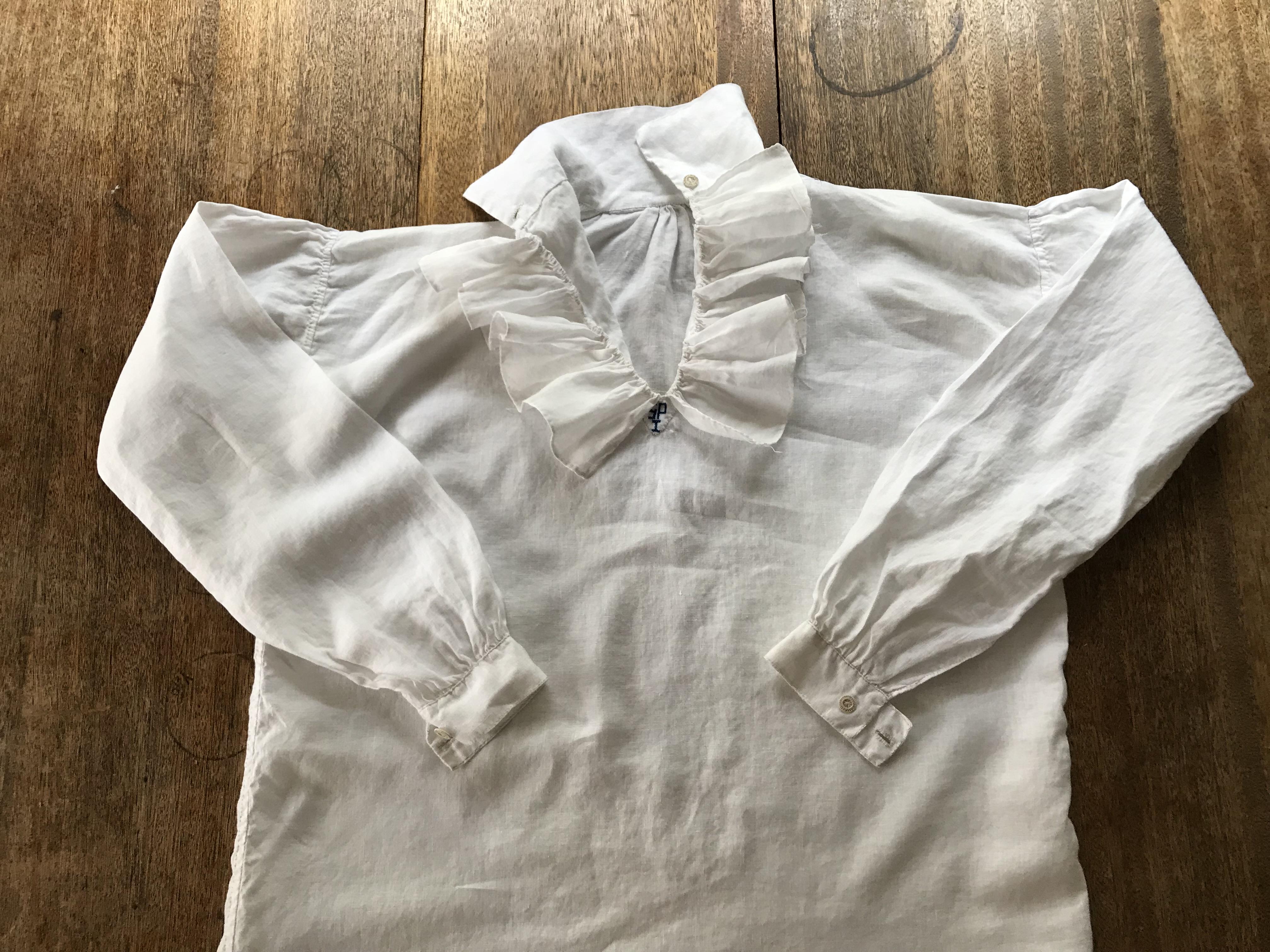 An 18th Century Men's Shirt